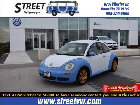 Pre-Owned 2007 Volkswagen New Beetle Coupe 2DR AUTO