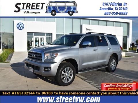 Pre-Owned 2016 Toyota Sequoia 4WD 5.7L FFV LIMITED