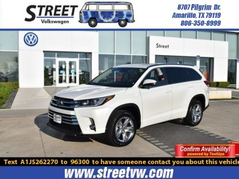 Pre-Owned 2018 Toyota Highlander LIMITED V6 FWD