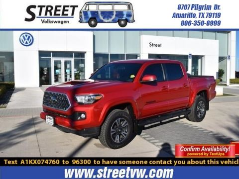 Pre-Owned 2019 Toyota Tacoma 2WD TRD SPORT DOUBLE CAB 5' BED V6 AT