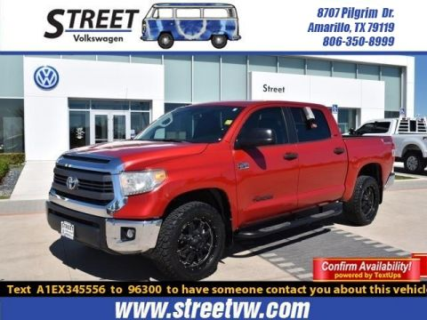 Pre-Owned 2014 Toyota Tundra 4WD Truck CREWMAX 5.7L FFV V8 6-SPD AT SR5