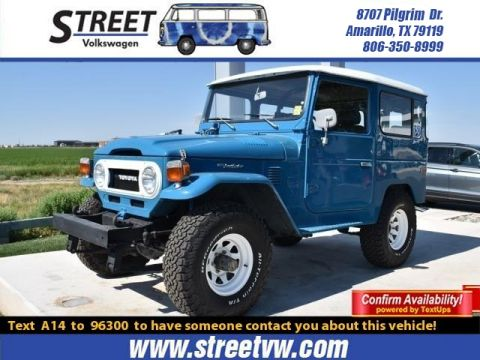 Pre-Owned 1977 Toyota LAND CRUISER