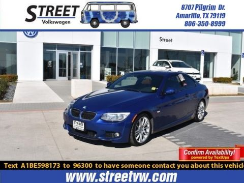 Pre-Owned 2011 BMW 3 Series 2DR CPE 335I RWD