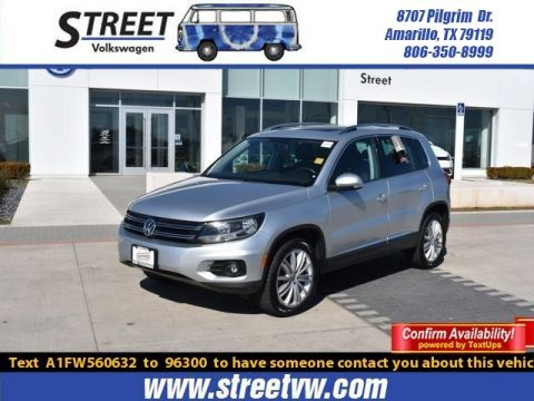 Certified Pre-Owned 2015 Volkswagen Tiguan 2WD 4DR AUTO SE W/APPEARANCE