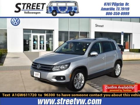 Certified Pre-Owned 2016 Volkswagen Tiguan 4MOTION 4DR AUTO SE