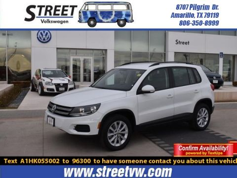 Certified Pre-Owned 2017 Volkswagen Tiguan 2.0T LIMITED 4MOTION